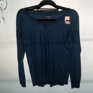 American Eagle Teal Sweater